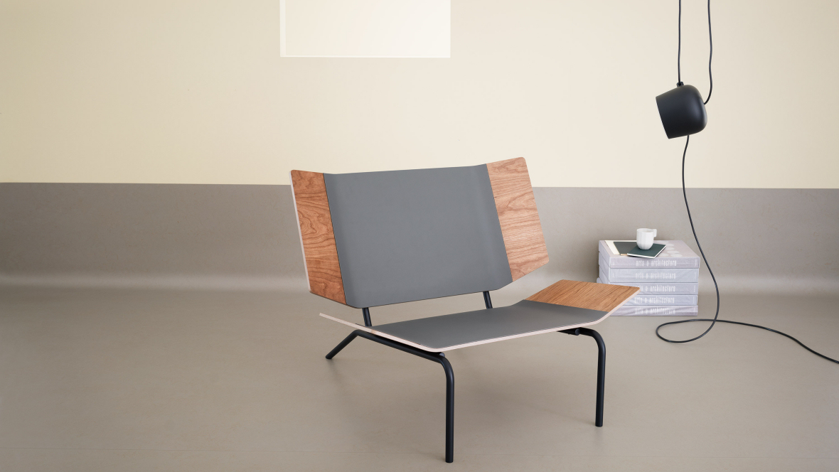 Forbo furniture linoleum linoleum voor het bekleden van meubilair