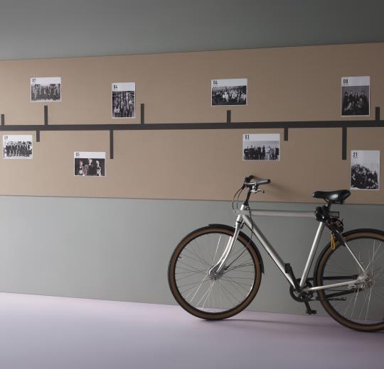 Inspiratie muur toepassing