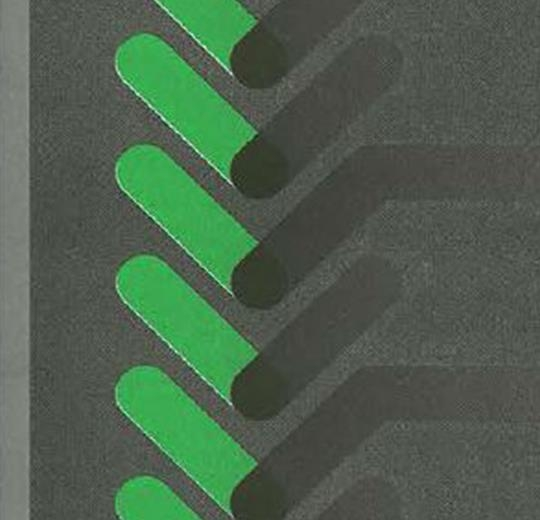 001381 Composition Green Lines