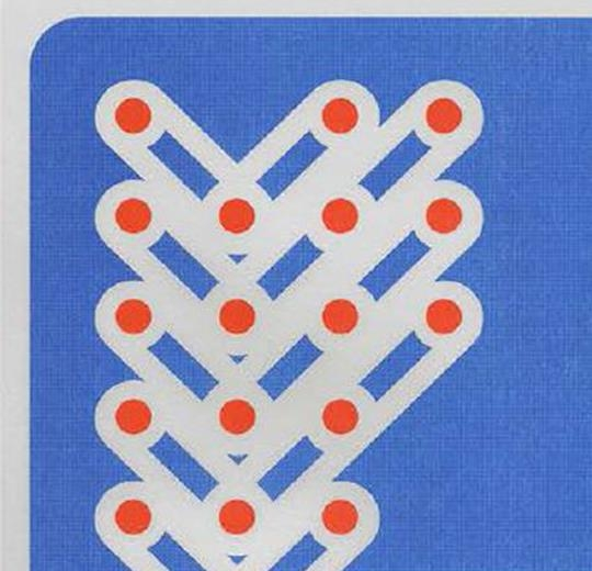 001585 Composition Red Dots